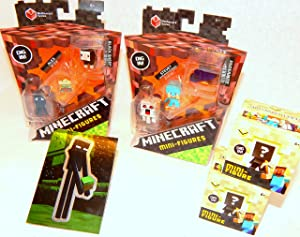 Minecraft Mini Figures Holiday Bundle