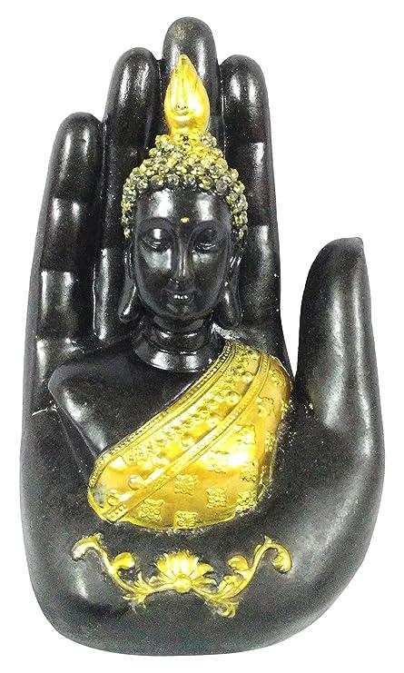 Buy Akruti art Resin Bhudha Idol (5 cm x 4 cm x 7 cm) Online