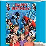 Disney Pixar Incredibles 2 Superhero Birthday Party Scene Setters With Photo