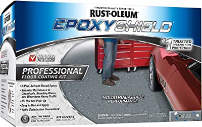 Rust-Oleum Dark Grey Floor Coating Kit