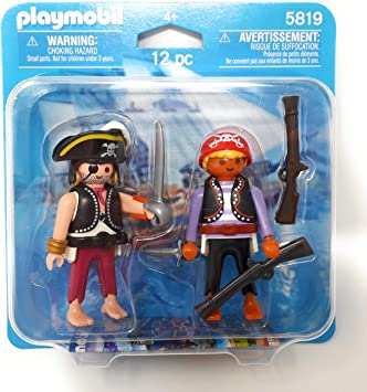PLAYMOBIL 5819 Duo Pack Piratas: Amazon.es: Juguetes y juegos