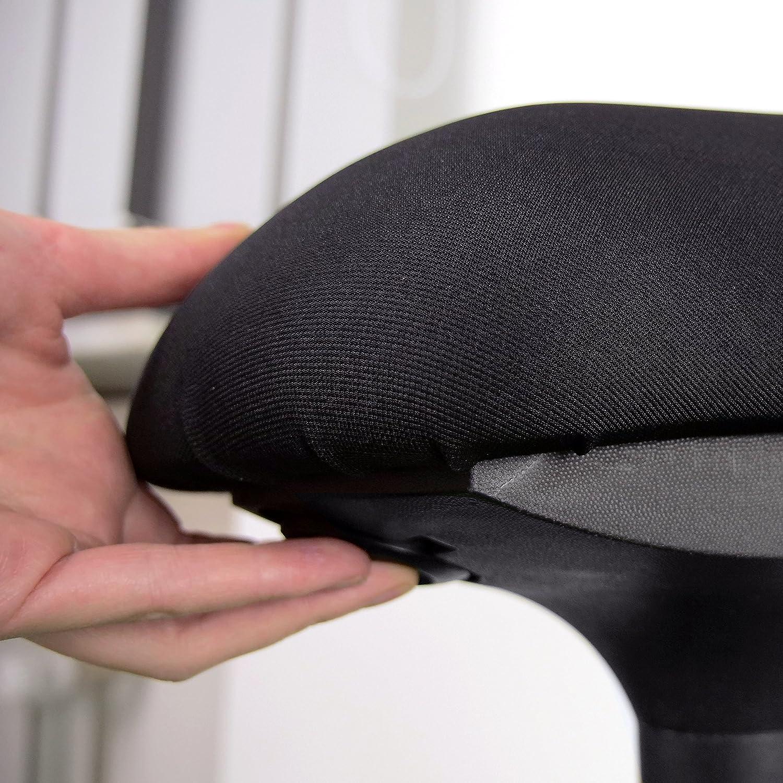 Ergotopia Tabouret de Bureau Ergonomique r/églable en Hauteur avec Fonction de Mouvement int/égr/ée pour Une Position Dynamique et Saine Tabouret pivotant Douleurs dorsales et tensions