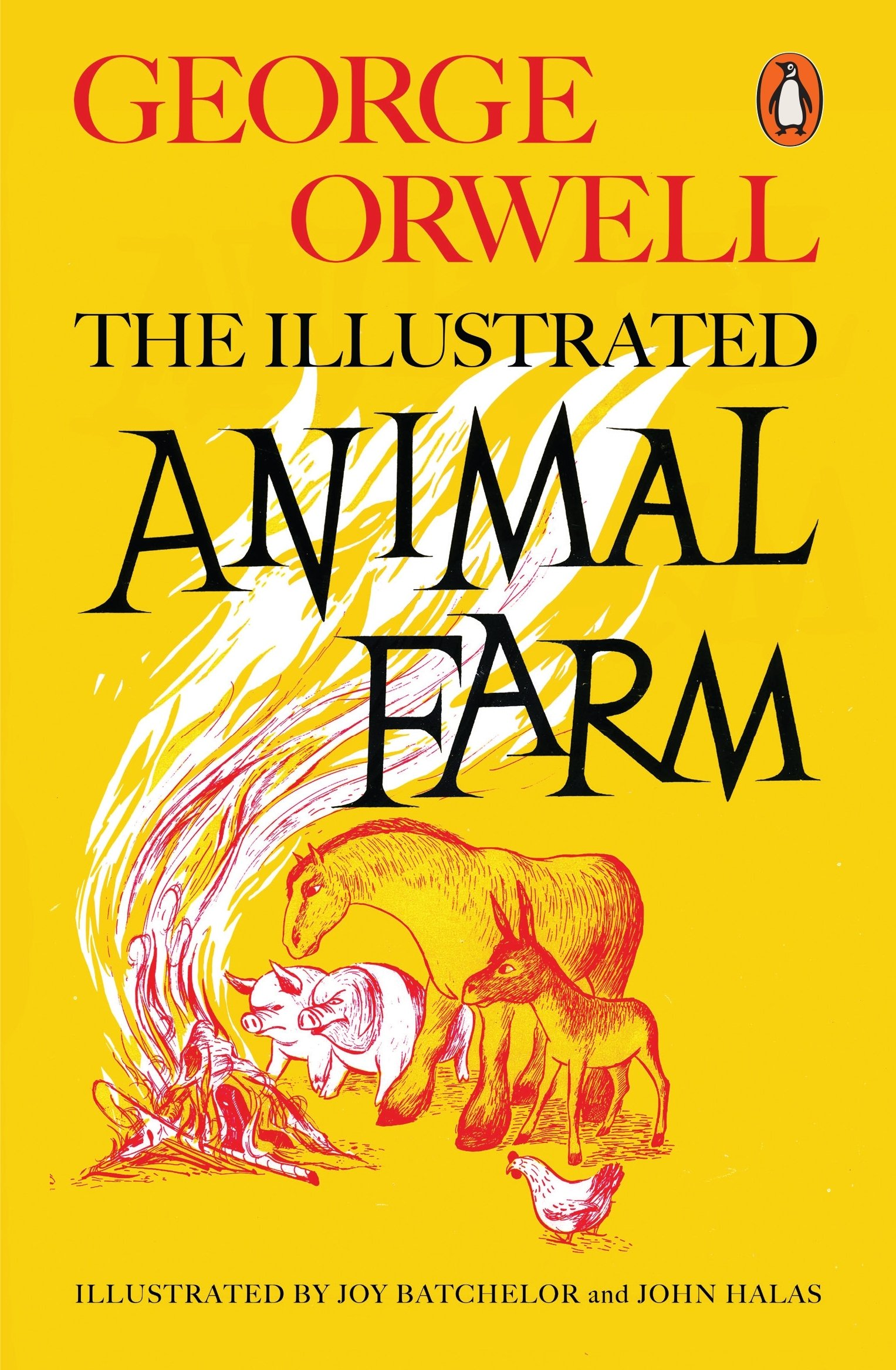 Animal Farm Illustrated 75th Anniversary Edition Penguin Modern Classics George Orwell Illustrated By Joy Batchelor And John Halas Joy Batchelor And John Halas 9780241196687 Amazon Com Books