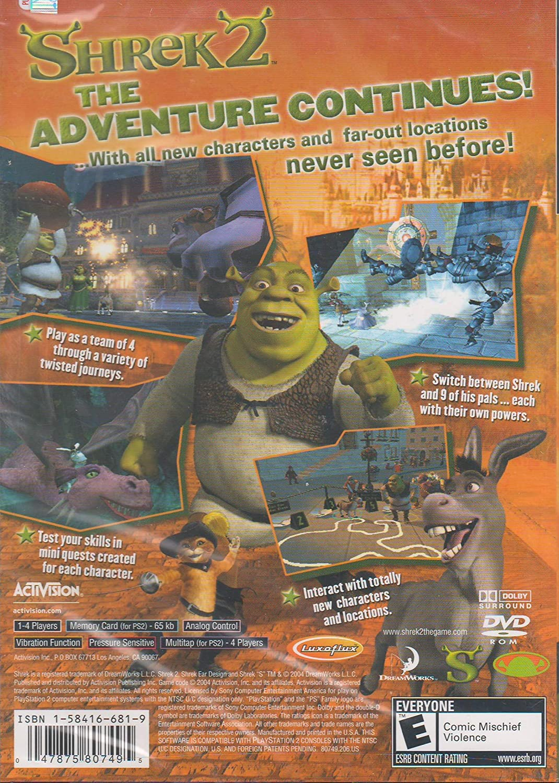 Amazon.com: Shrek 2: Video Games