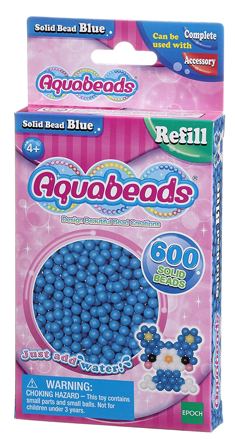 Dispatched from UK Blue Aquabeads Solid Bead Pack