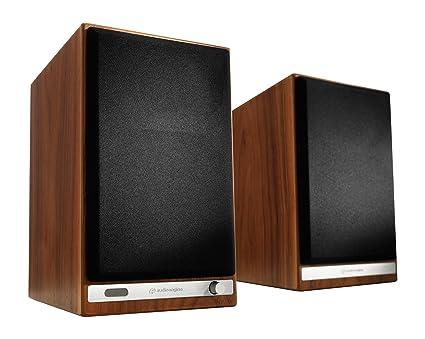 Audioengine HD6 Wireless Bookshelf Speakers Stream Pandora Spotify Tidal Or Your Favorite App