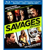 Savages [Blu-ray + DVD + Digital Copy] (Bilingual)