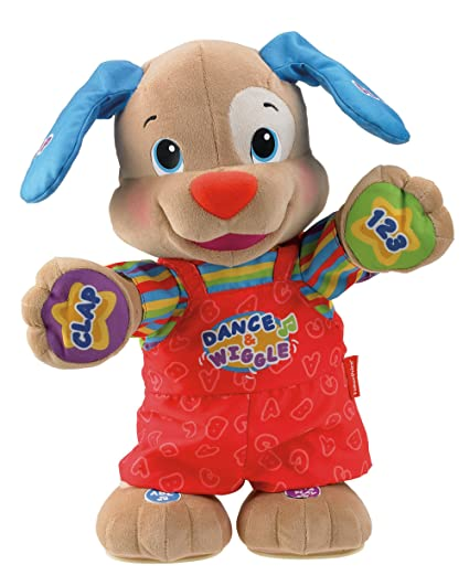 Amazoncom Fisher Price Laugh Learn Dance And Play Puppy Toys