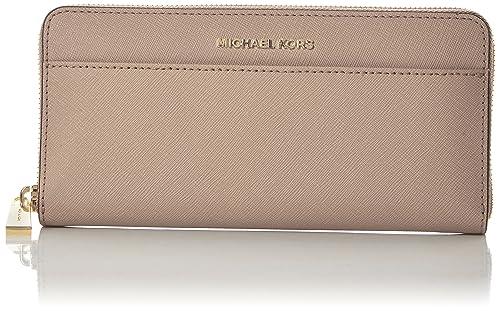 Michael Kors - Jet Set, Carteras Mujer, Rosa (Soft Pink), 2.5x10.2x20.3 cm (W x H L): Amazon.es: Zapatos y complementos