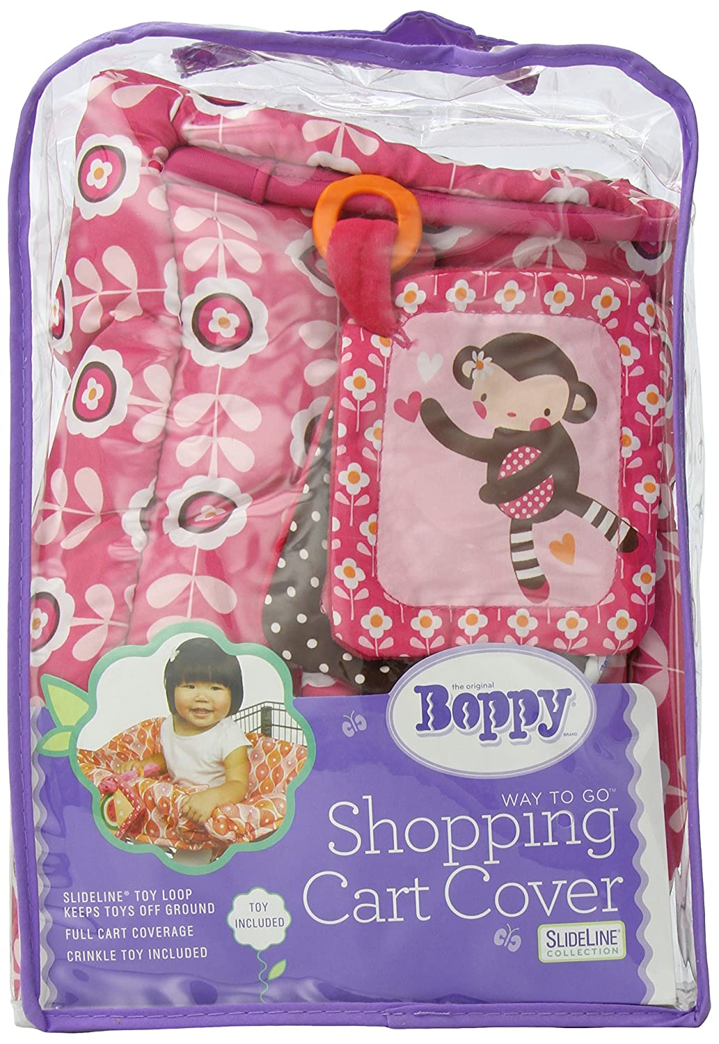 Amazon.com : Boppy Shopping Cart Cover, Olivia (Discontinued by ...