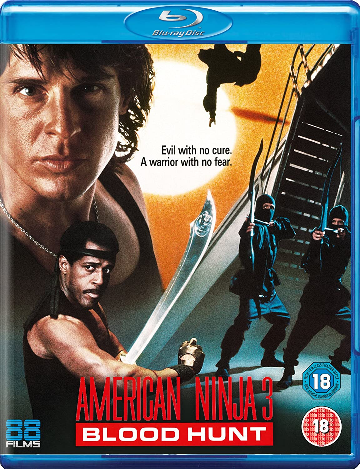 Amazon.com: American Ninja 3: Bloodhunt [Blu-ray]: Cine y TV