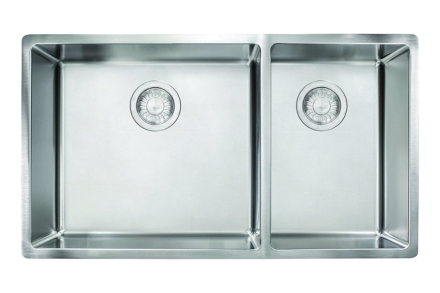 Franke CUX160 Cube 18G Stainless Steel Double Bowl Kitchen Sink      Amazon.com