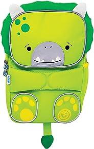 Mochila Infantil Toddlepak Trunki - Dinossauro Dudley - cor Verde, Trunki, Verde