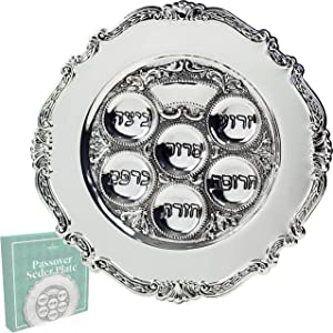 Lowest priced Traditional Passover Seder Plate 12