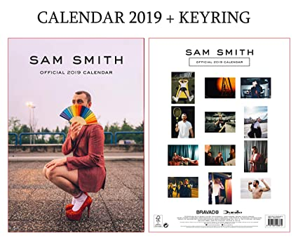 Amazon.com : SAM Smith Official Calendar 2019 Including SAM ...