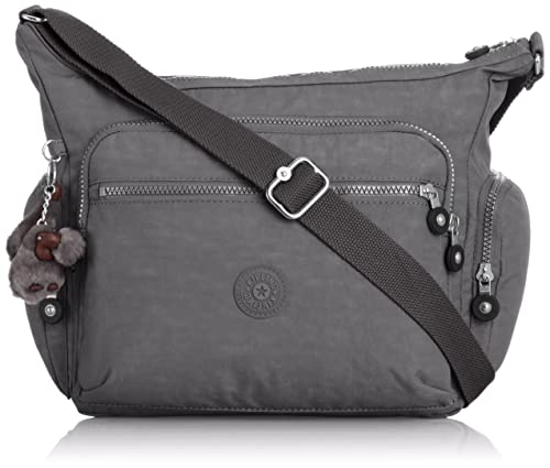 3c507afa35 Kipling Gabbie Shoulder Bag (Cool Grey)  Amazon.in  Shoes   Handbags