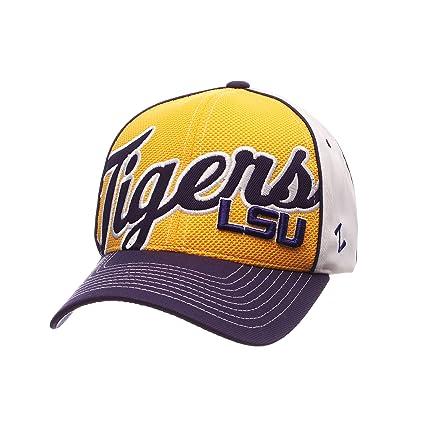 Amazon.com   ZHATS NCAA LSU Tigers Men s Uprising Hat fde361347933