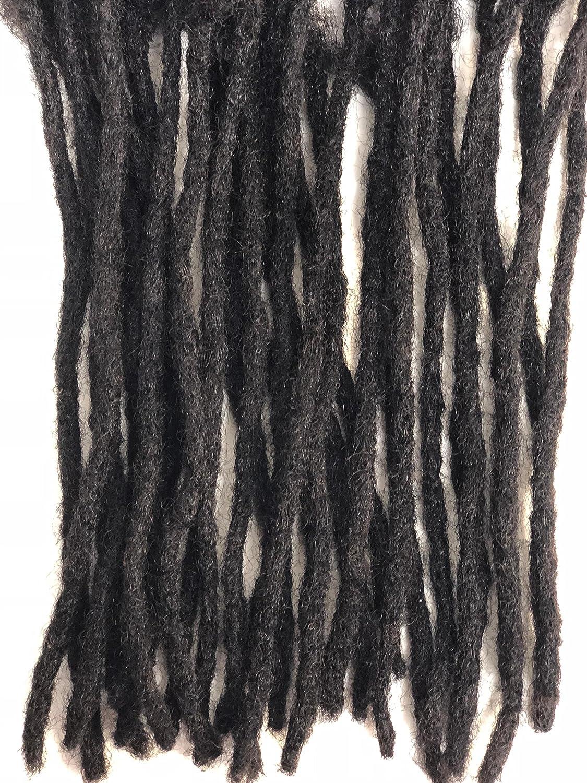 Amazon 100 Human Hair Individual Single Loc Microlocks
