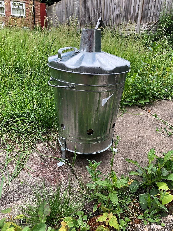 Mini garden incinerator small 15L Rubbish Waste Paper document burning fire bin