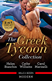 Greek Tycoon Collection/The Greek Tycoon's Virgin Wife/At the Greek Tycoon's Bidding/Blackmailed into the Greek Tycoon's Bed (The Greek Tycoons)