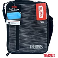 THERMOS Thermal Lunch Kits, Black/Grey, 133485