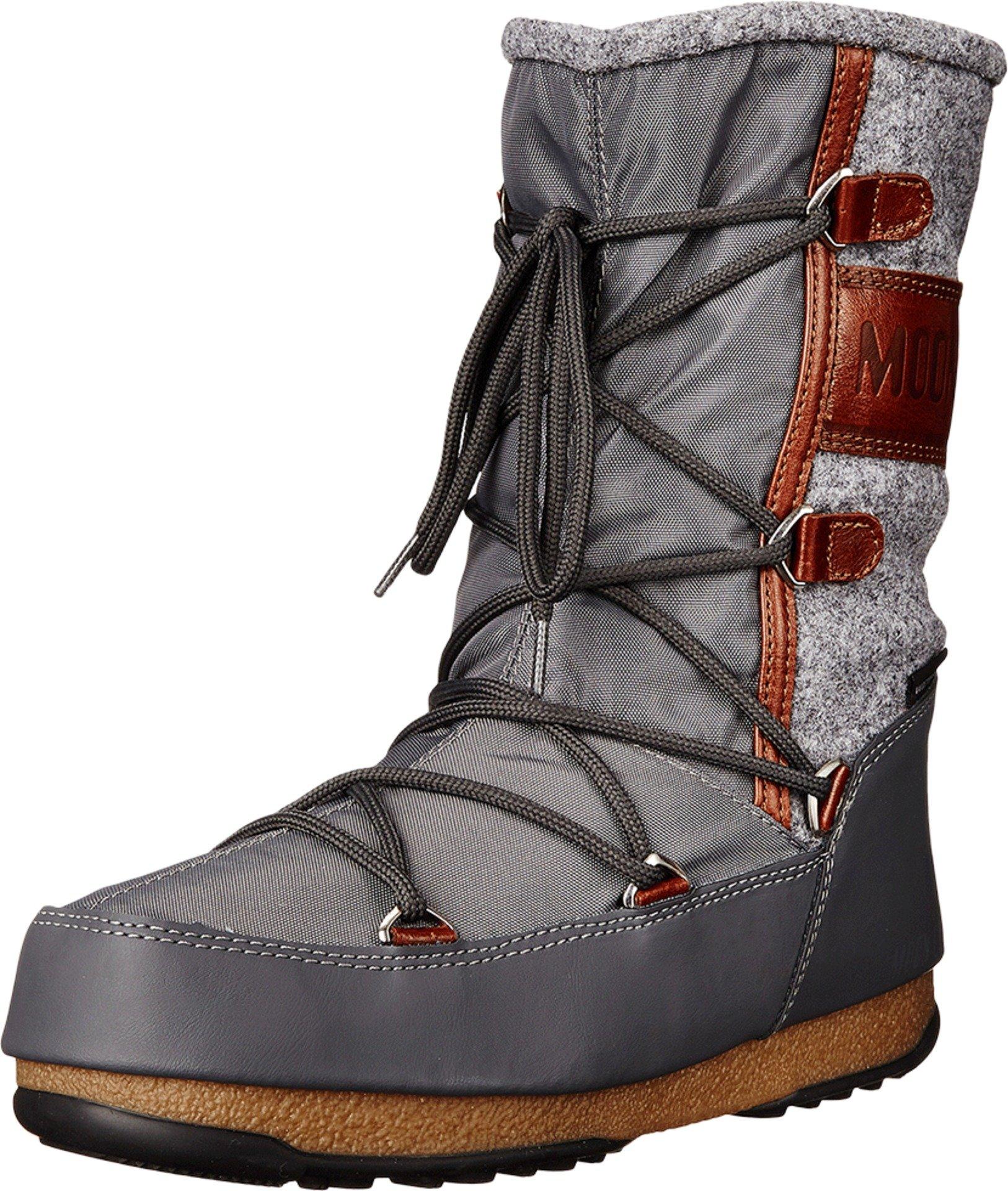 Tecnica Women's Moon W.E. Vienna Felt Winter Fashion Boot, Gray, 40 EU/8.5 M US