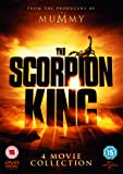 The Scorpion King/The Scorpion King: Rise Of A Warrior/The Scorpion King 3: Battle For Redemption/The Scorpion King 4: Quest For Power [DVD] [2015]