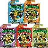 Hot Wheels 2020 Teenage Mutant Ninja Turtles 5 car Set .. .