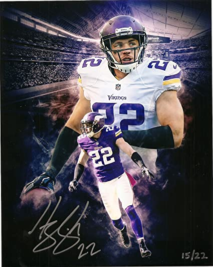 855c6645fbe Harrison Smith Minnesota Vikings Autographed Signed 8 x 10 Photo   d ...
