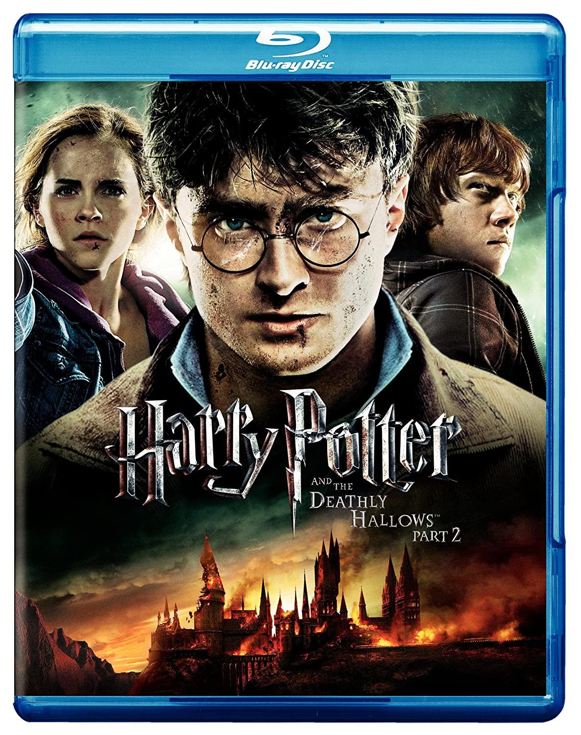 Amazon Com Harry Potter And The Deathly Hallows Part 2 Movie Only Edition Ultraviolet Digital Copy Blu Ray Daniel Radcliffe Rupert Grint Emma Watson David Yates Movies Tv