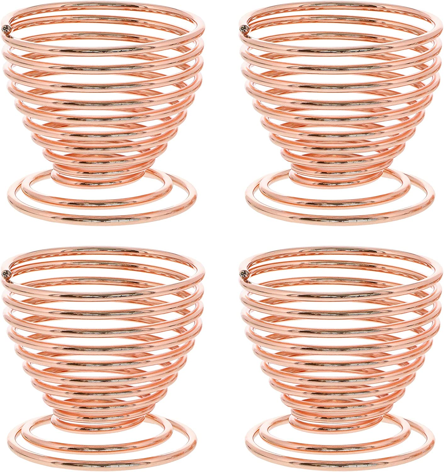 Makeup Sponge Holder, Drying Stand (Rose Gold, 4 Pack)