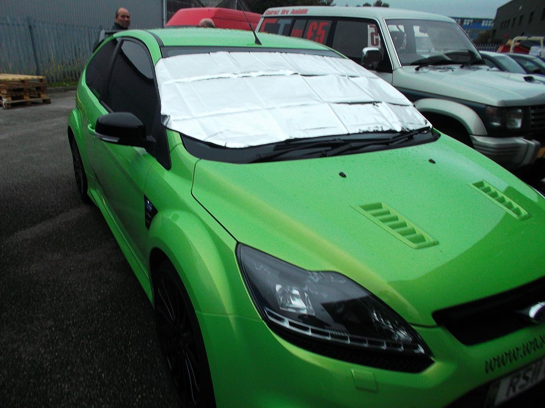 Winter &été voiture pare-brise avant fenêtre film de protection d'écran-pour protéger du soleil, de la neige, du gèle et de glaces du gèle et de glaces Motionperformance