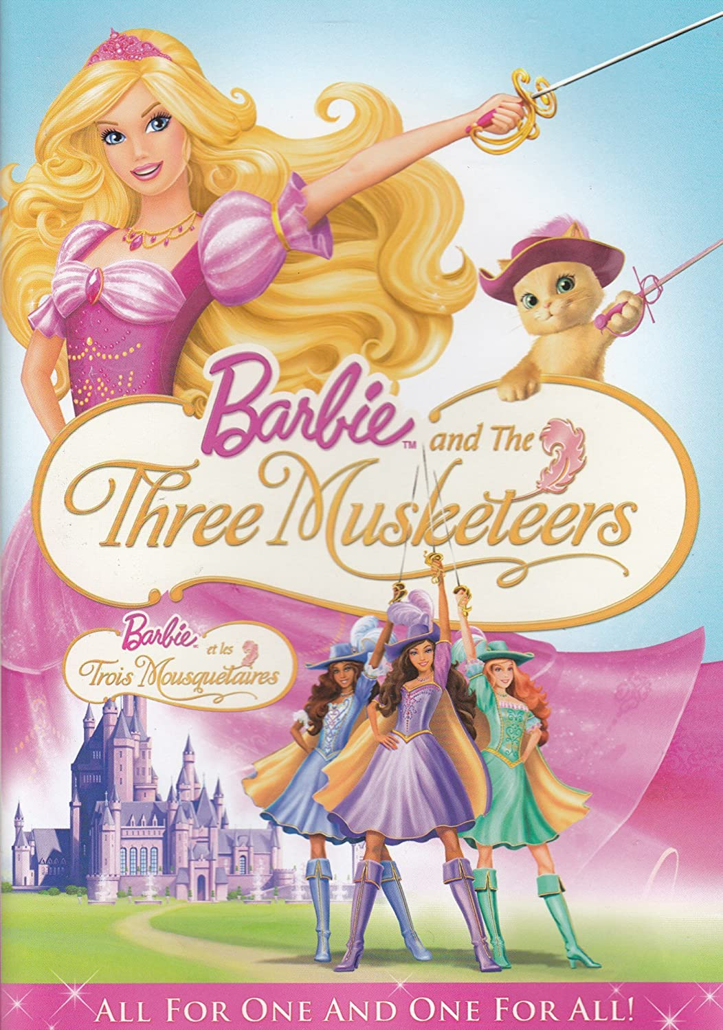 Barbie and The Three Musketeers (Bilingual) Kelly Sheridan Tim Curry Kira Tozer Willow Johnson