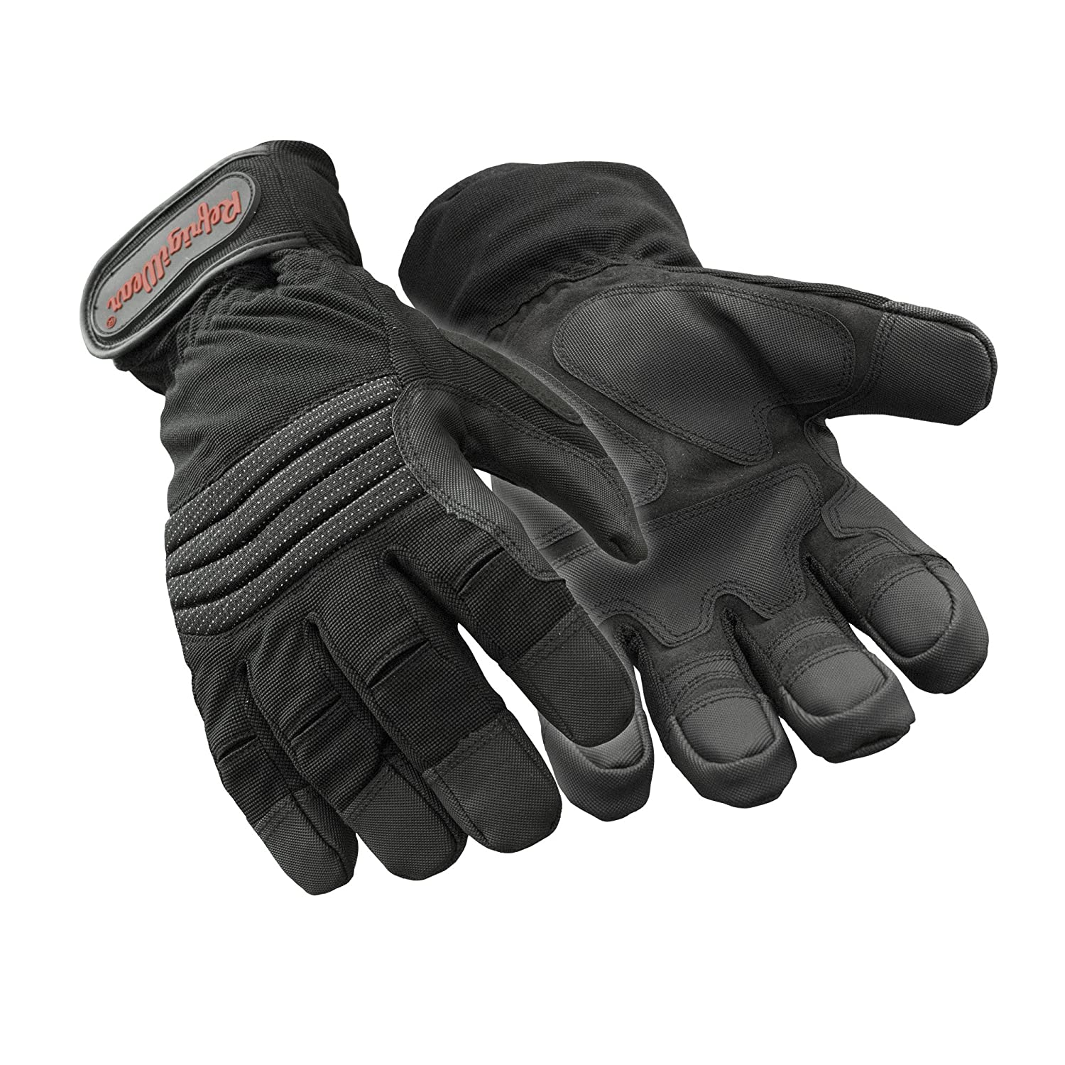 RefrigiWear ArcticFit Waterproof Fiberfill Insulated Gloves with Impact Protection Black, X-Large