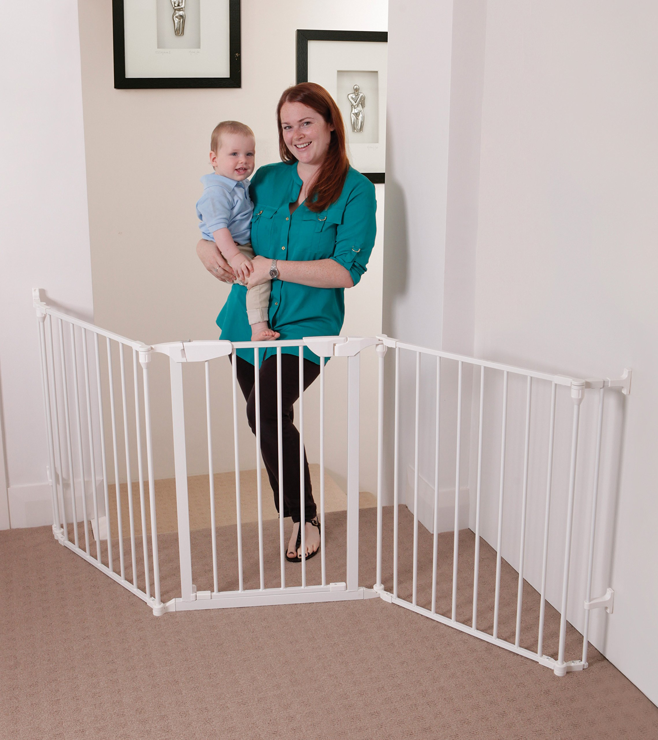 Dreambaby Newport Adapta Gate (White) by Dreambaby (Image #8)