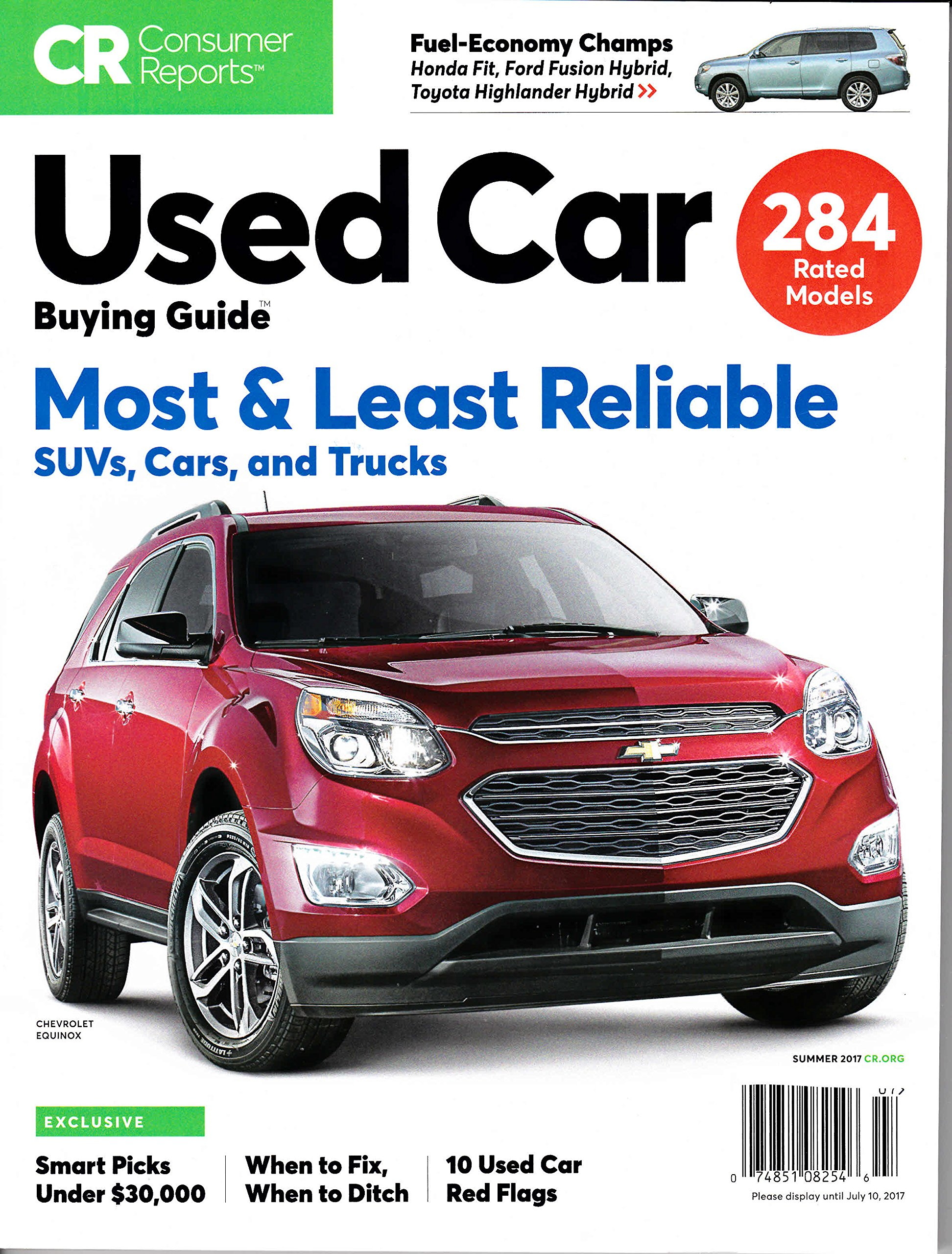Consumer Reports Buying Guide Summer product image