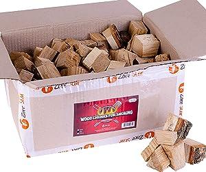 Zorestar Alder Wood Chunks for Smokers - 15 lb