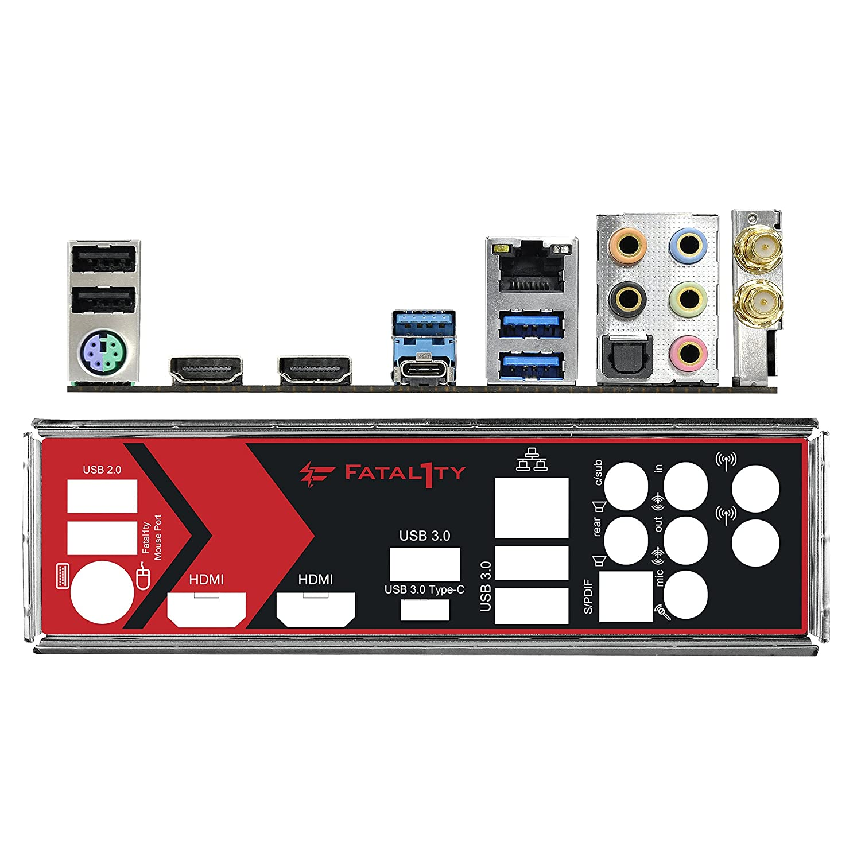 1x PCIe 3.0 x16 Socket AM4, 2X DDR4, M/áx. 32GB, 2X HDMI, 4X SATA3, 1x Ultra M.2 1 Type-C 6X USB 3.1 Gen1 Placa Base Gaming Mini-ITX PCIe Gen3 x4 ASRock Fatal1ty AB350 Gaming-ITX//AC