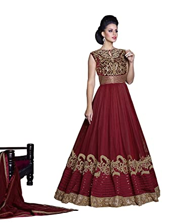 Amazon.com: Indian Bollywood Designer Women Ethnic Traditional Wear ...