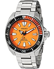Seiko ' Prospex' Automatic Stainless Steel Casual Watch, Color:Silver-Toned (Model: SRPC07)