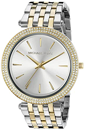 Michael Kors Women\u0027s Darci Two-Tone Bracelet Watch MK3215