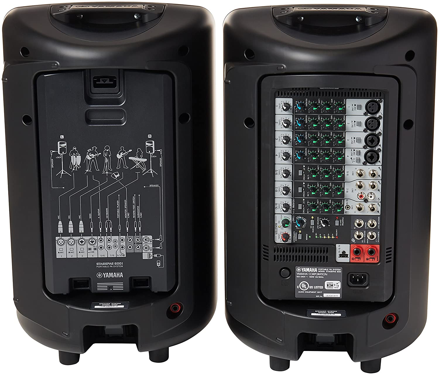 Yamaha Portable Pa System Stagepas I Manual