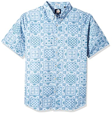 325dab1a284 Reyn Spooner Men s Original Lahaina Tailored Fit Hawaiian Shirt at ...