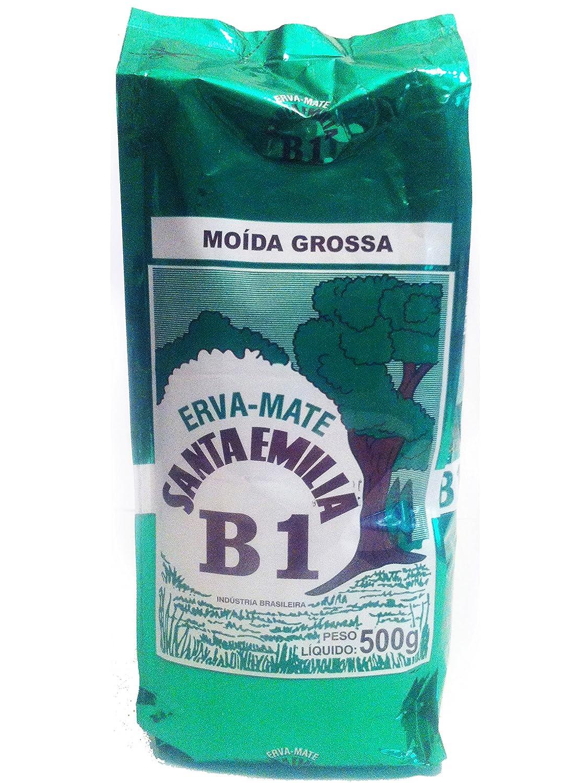 Amazon.com : Santa Emilia B1 Aged Brazilian Erva (Yerba) Mate or Chimarrao (Ilex paraguariensis) : Grocery & Gourmet Food