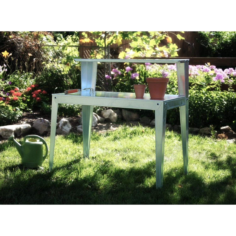 Amerihome Multi-Use Steel Table Work Bench