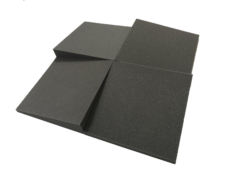 Placas acústicas Slider de Advanced Acoustics, 30,5 cm, acondicionamiento acústico de estudio, juego de 16 placas de espuma, cobertura 1,1 m2: Amazon.es: ...