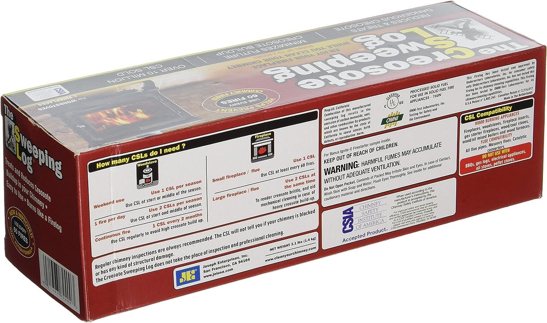 1-pack 2 Count Ignite-O SL824-12 Creosote Log Brown