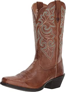 a1e6c93c624 ARIAT Women s Round Up Square Toe Western Boot