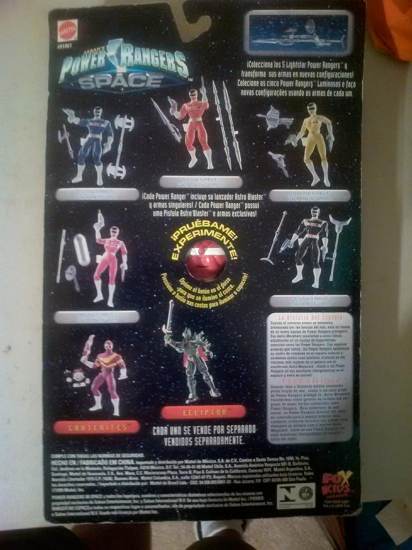Amazon.com: Sabans Power Rangers in Space Lightstar Red/Vermelho: Toys & Games