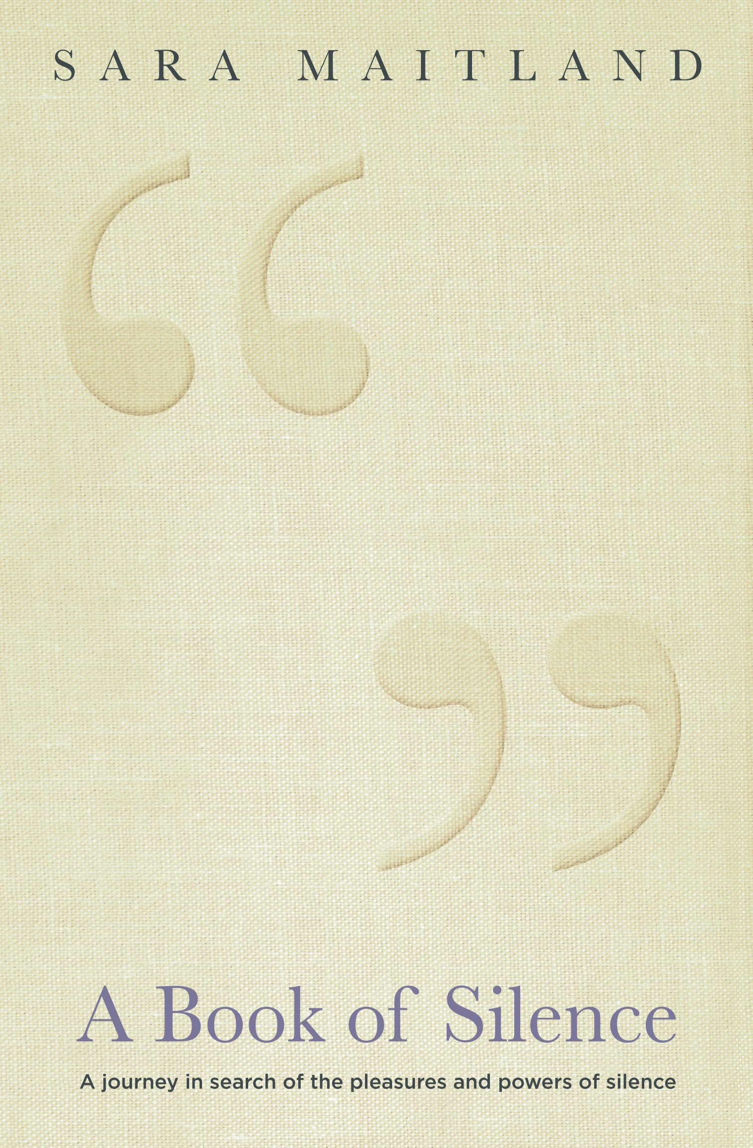 A Book of Silence: Amazon.de: Sara Maitland: Fremdsprachige Bücher